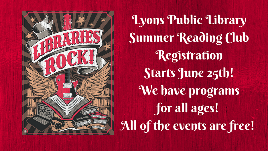 Summer Reading is coming!