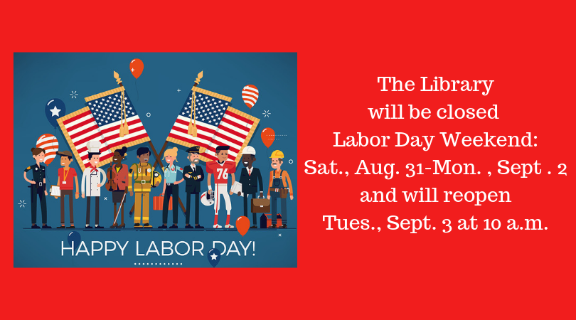Closed Labor Day Weekend